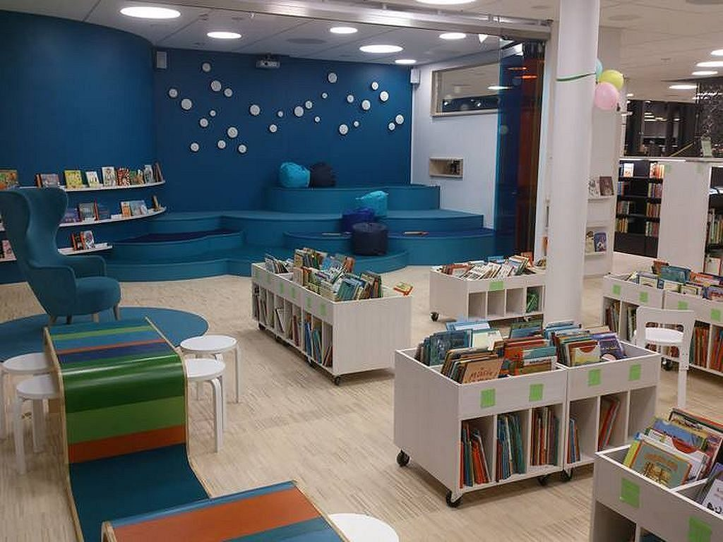 Bibliotecă în Suedia