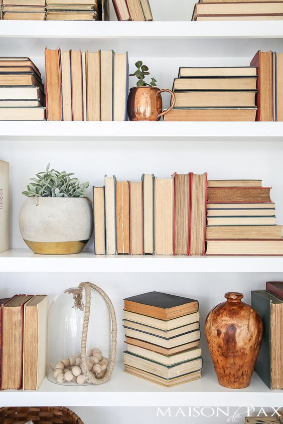 bibliotecă Pinterest